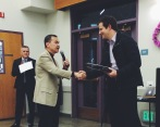 Award given by District 4 Council Member Manh Nguyen