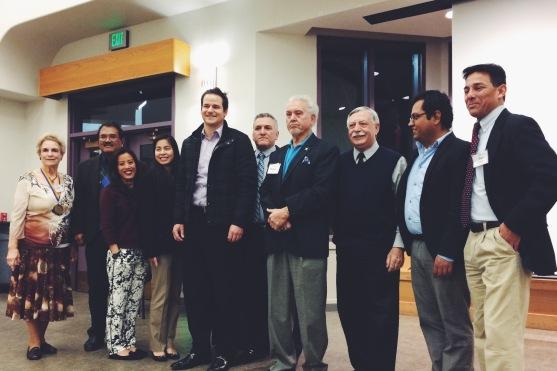 Tyler Shewey with the San Jose city representatives