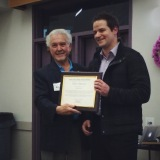 Award by Richard Santos on behalf of the Santa Clara Valley Water District